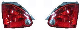 Headlights & Tail Lights - Tail Lights - Custom - Clear Red Taillights
