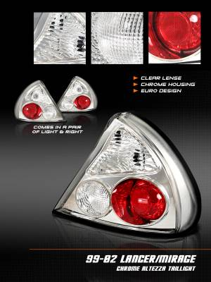 Headlights & Tail Lights - Tail Lights - Custom - Chrome Taillights