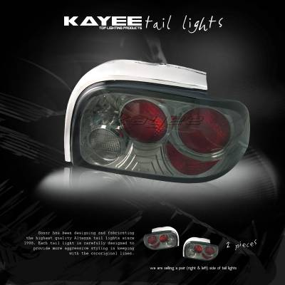 Headlights & Tail Lights - Tail Lights - Custom - Dark Smoke Altezza Taillights