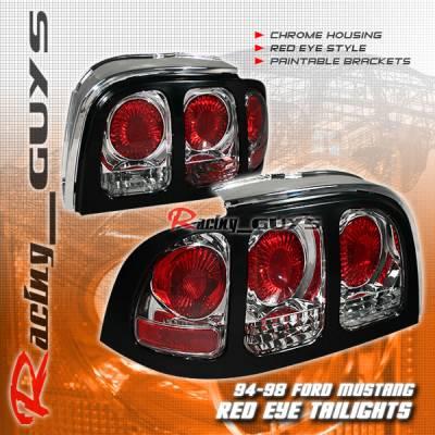 Headlights & Tail Lights - Tail Lights - Custom - Chrome Cobra Altezza Taillights