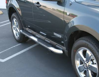 Suv Truck Accessories - Running Boards - Aries - Mazda Tribute Aries Sidebars - 3 Inch