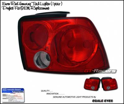 Headlights & Tail Lights - Tail Lights - Custom - Euro Red Altezza Taillights