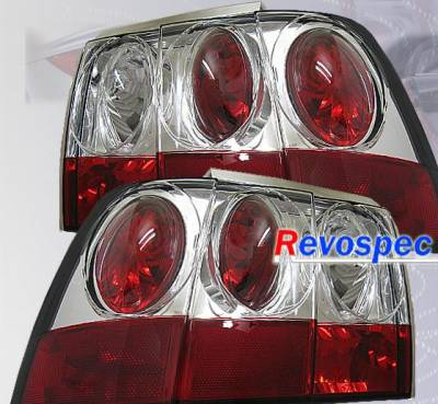 Headlights & Tail Lights - Tail Lights - Custom - Chrome Clear Taillights
