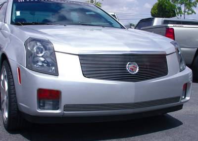 Grilles - Custom Fit Grilles - T-Rex - Cadillac CTS T-Rex Billet Grille Insert without Center Logo Plate - 17 Bars - 20191