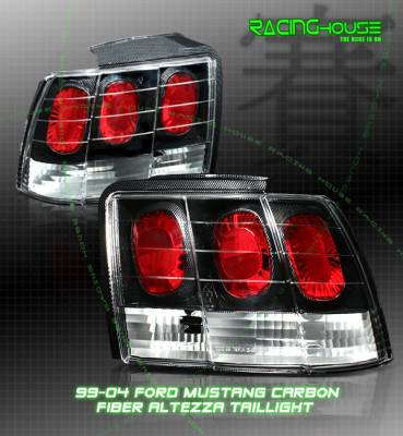 Headlights & Tail Lights - Tail Lights - Custom - Euro Carbon Altezza Taillights