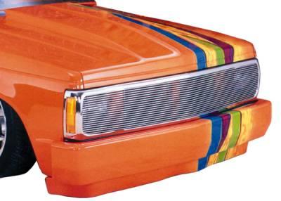 Grilles - Custom Fit Grilles - T-Rex - GMC Sonoma T-Rex Phantom Grille Billet Insert - 13 Bars - 20220