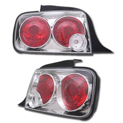 Headlights & Tail Lights - Tail Lights - Custom - Euro Red Clear Altezza Taillights
