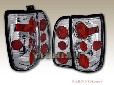 Headlights & Tail Lights - Tail Lights - Custom - G2 Chrome Taillights