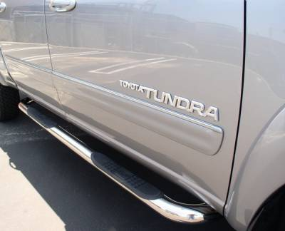 Suv Truck Accessories - Running Boards - Aries - Toyota Tundra Aries Sidebars - 3 Inch