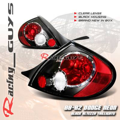 Headlights & Tail Lights - Tail Lights - Custom - Black Clear Lense Taillights