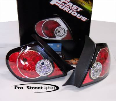 Headlights & Tail Lights - Tail Lights - Custom - Carbon Fiber Taillights