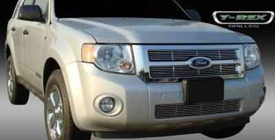 Grilles - Custom Fit Grilles - T-Rex - Ford Escape T-Rex Billet Grille - Bolt On - 2PC - 20649