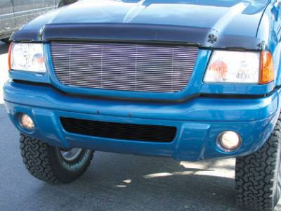 Grilles - Custom Fit Grilles - T-Rex - Ford Edge T-Rex Billet Grille Insert - 26 Bars - 20686