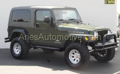Suv Truck Accessories - Running Boards - Aries - Jeep Wrangler Aries Sidebars - 3 Inch