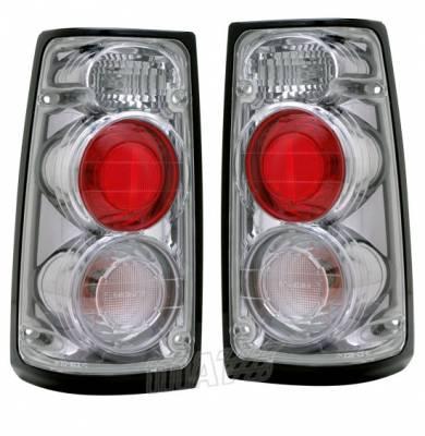 Headlights & Tail Lights - Tail Lights - Custom - Gunmetal Altezza Taillights