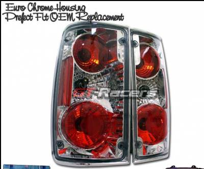 Headlights & Tail Lights - Tail Lights - Custom - Euro Chrome Altezza Taillights