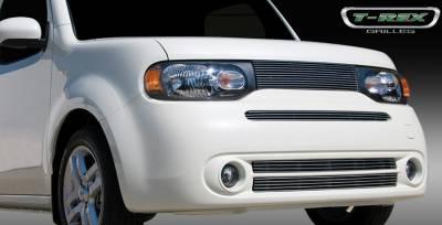 Grilles - Custom Fit Grilles - T-Rex - Nissan Cube T-Rex Billet Grille Insert -2PC - 20772