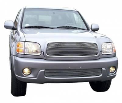 Grilles - Custom Fit Grilles - T-Rex - Toyota Sequoia T-Rex Billet Grille Insert - 20 Bars - 20900
