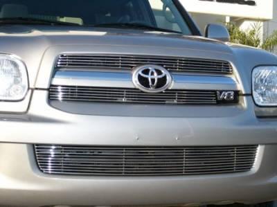 Grilles - Custom Fit Grilles - T-Rex - Toyota Sequoia T-Rex Billet Grille Insert - 2PC - 20901