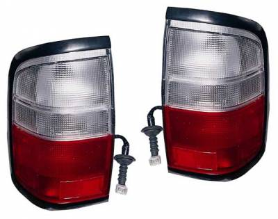 Headlights & Tail Lights - Tail Lights - Custom - Red Chrome Taillights