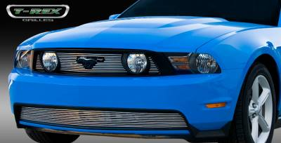 T-Rex. - Ford Mustang T-Rex Billet Grille Overlay - 3PC - 21519