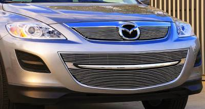 Grilles - Custom Fit Grilles - T-Rex - Mazda CX-9 T-Rex Billet Grille Overlay - Bolt On - 2PC - 21639