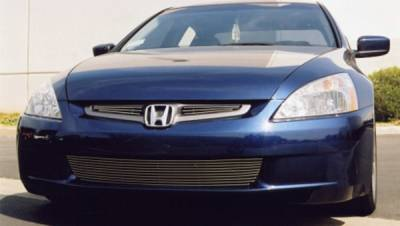 Grilles - Custom Fit Grilles - T-Rex - Honda Accord 4DR T-Rex Billet Grille Overlay3 Bars - 2PC - 21730