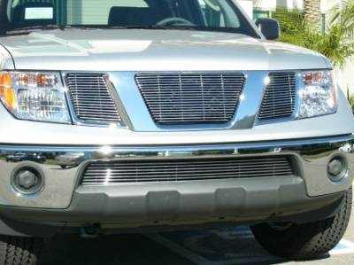 Grilles - Custom Fit Grilles - T-Rex - Nissan Frontier T-Rex Billet Grille Overlay - Bolt On - No Logo Opening - 3PC - 21760