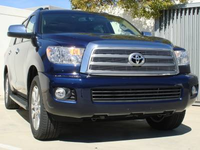 Grilles - Custom Fit Grilles - T-Rex - Toyota Sequoia T-Rex Billet Grille Overlay - 4PC - 21902