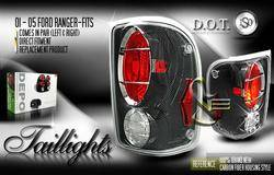 Headlights & Tail Lights - Tail Lights - Custom - Depo Carbon Taillights