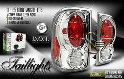 Headlights & Tail Lights - Tail Lights - Custom - Depo Chrome Taillights