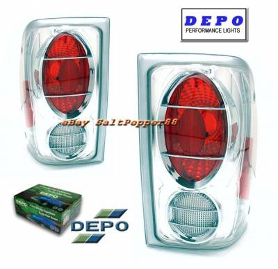 Headlights & Tail Lights - Tail Lights - Custom - Depo Clear Taillights