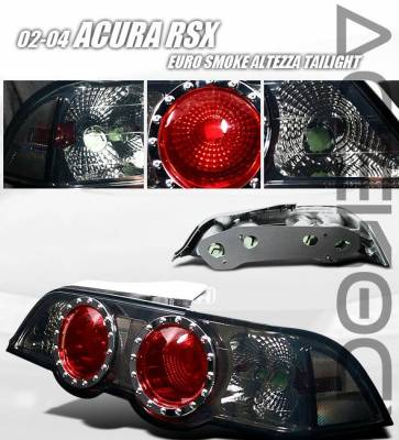 Headlights & Tail Lights - Tail Lights - Custom - Euro Smoke Taillights