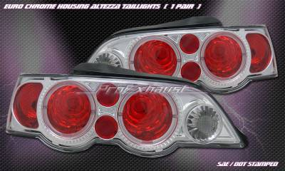 Headlights & Tail Lights - Tail Lights - Custom - Euro Chrome S-Type Taillights