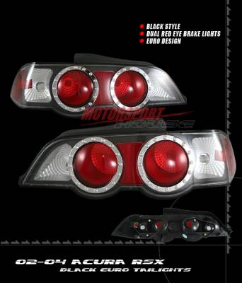 Headlights & Tail Lights - Tail Lights - Custom - Euro Dual Red Eye Taillights