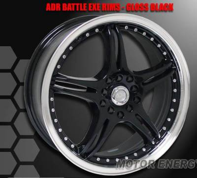 ADR - 17 Inch - Battle - 4 Wheel Set