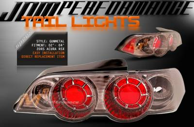 Headlights & Tail Lights - Tail Lights - Custom - JDM Gunmetal Altezza Taillights