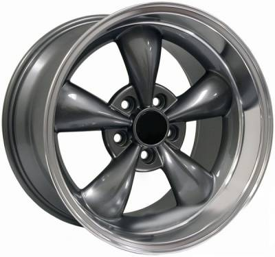 AM Custom - Ford Mustang Anthracite Deep Dish Bullitt Wheel