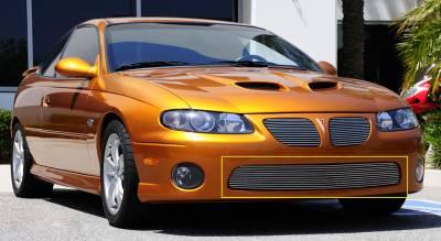 Grilles - Custom Fit Grilles - T-Rex - Pontiac GTO T-Rex Bumper Billet Grille Insert - 11 Bars - 25165