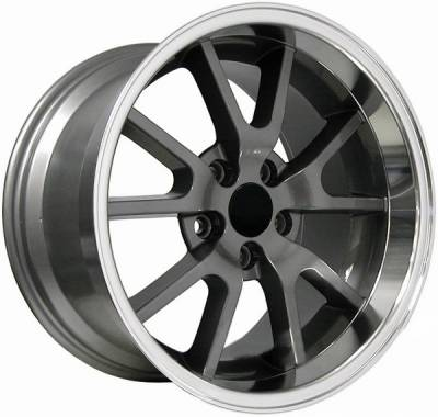 Wheels - Mustang Wheels - AM Custom - Ford Mustang Anthracite Deep Dish FR500 Wheel