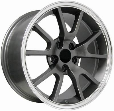 Wheels - Mustang Wheels - AM Custom - Ford Mustang Anthracite FR500 Wheel