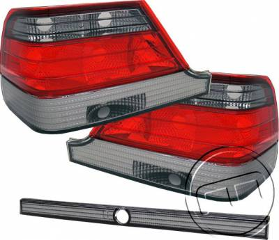 Headlights & Tail Lights - Tail Lights - Custom - Red Smoked Taillights