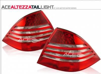Headlights & Tail Lights - Tail Lights - Custom - Red Smoke Taillights
