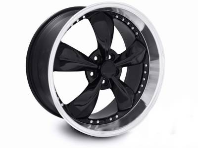 AM Custom - Ford Mustang Black Bullitt Motorsport Wheel