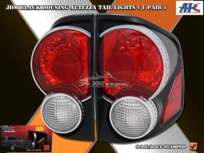 Headlights & Tail Lights - Tail Lights - Custom - 3D Retro Black Taillights