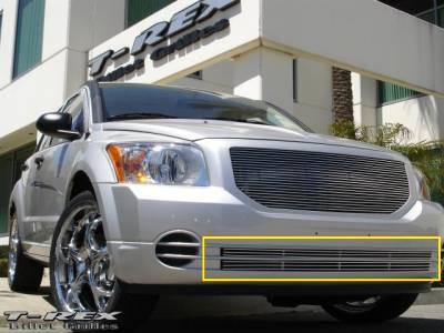 Grilles - Custom Fit Grilles - T-Rex - Dodge Caliber T-Rex Bumper Billet Grille Insert - 2PC - 25477