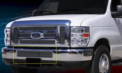 Grilles - Custom Fit Grilles - T-Rex - Ford E-Series T-Rex Bumper Billet Grille Insert - 25501