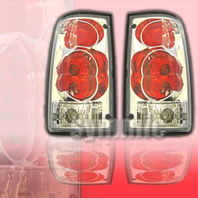 Headlights & Tail Lights - Tail Lights - Custom - Red Clear Altezza Taillights