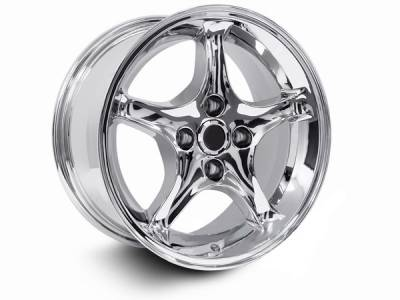 Wheels - Mustang Wheels - AM Custom - Ford Mustang Chrome 1995 Style Cobra R Wheel