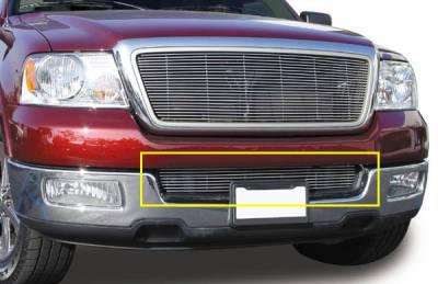 Grilles - Custom Fit Grilles - T-Rex - Lincoln Mark T-Rex Bumper Billet Grille Insert - 10 Bars - 25552